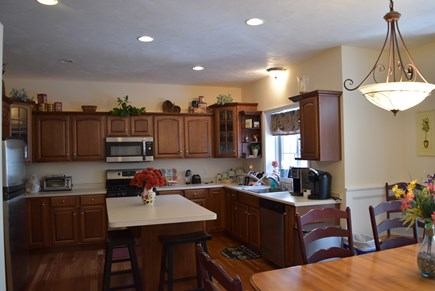 West Yarmouth Cape Cod vacation rental - Open to dining room