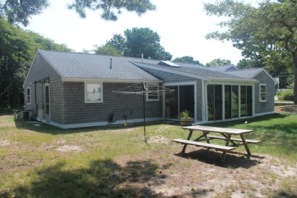 Eastham Cape Cod vacation rental - Back yard
