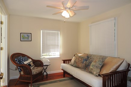 South Chatham Cape Cod vacation rental - Sitting room off master bedroom with full futon