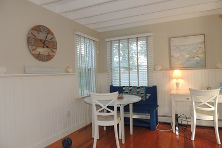 Harwich Port Cape Cod vacation rental - Sitting area with desk