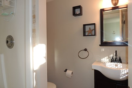 Harwich Port Cape Cod vacation rental - First floor bathroom