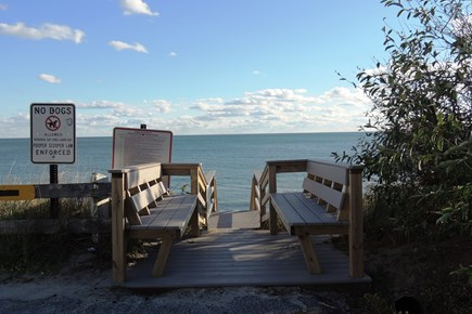 Harwich Port Cape Cod vacation rental - Steps leading to beach