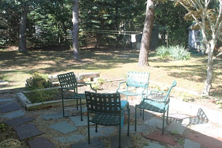 Eastham Cape Cod vacation rental - Sitting area on patio