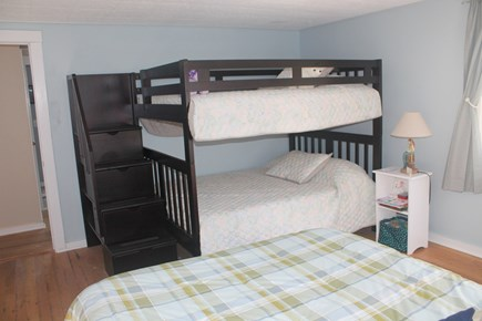 Eastham Cape Cod vacation rental - Second bedroom with full bunk beds