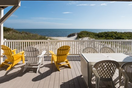 West Dennis Cape Cod vacation rental - View from the downstairs deck