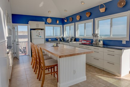 West Dennis Cape Cod vacation rental - Upstairs kitchen