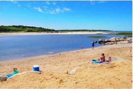 Brewster Cape Cod vacation rental - Paines Creek Beach: Just a Few Steps Away Enjoy High and Low Tide