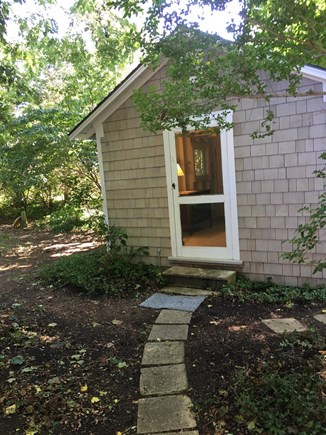 Brewster Cape Cod vacation rental - Rustic Couples Cottage/Bunk House, One Double, Twin High Riser