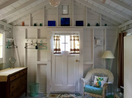 Brewster Cape Cod vacation rental - Furnished retro style, the cottage is steps from the main house.