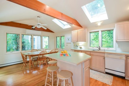 Brewster Cape Cod vacation rental - Kitchen and Adjoining Dining Area Seating for 10