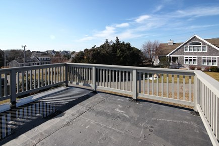 North Falmouth Cape Cod vacation rental - Enjoy cookouts on the deck.