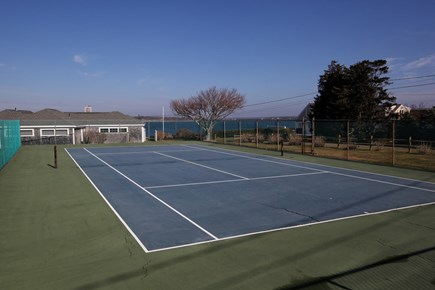 North Falmouth Cape Cod vacation rental - Nye's Neck Association Tennis Court