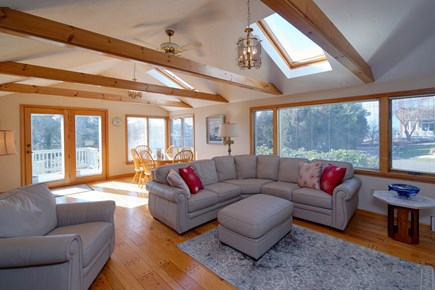 North Falmouth Cape Cod vacation rental - Open Floor Plan with a Living Room/Dining Room combination