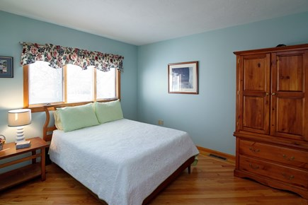 North Falmouth Cape Cod vacation rental - Master Bedroom with Queen size bed and private bathroom.