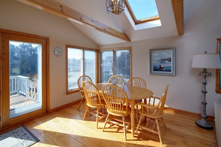North Falmouth Cape Cod vacation rental - Dining table seats 6