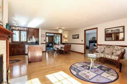 Falmouth, Old Silver Beach Cape Cod vacation rental - Kitchen with large open floor plan.