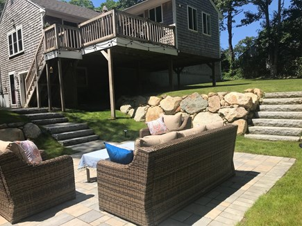 Falmouth, Old Silver Beach Cape Cod vacation rental - New Patio.