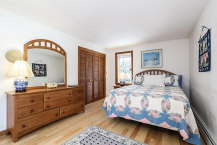 Falmouth, Old Silver Beach Cape Cod vacation rental - Large master bedroom with en suite bathroom.