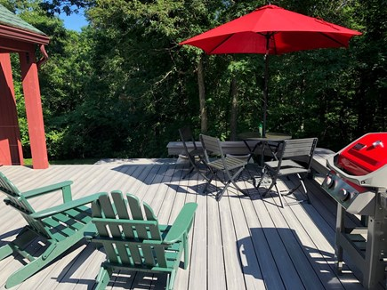 Sagamore Beach Sagamore Beach vacation rental - Spacious BBQ patio off library and great room with total privacy