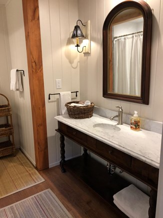 Sagamore Beach Sagamore Beach vacation rental - Post and beam luxury marble shower bathroom
