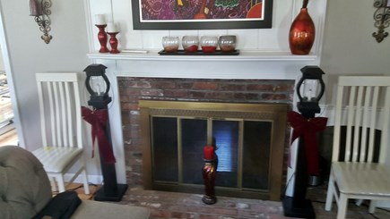 centerville Centerville vacation rental - Traditional fireplace