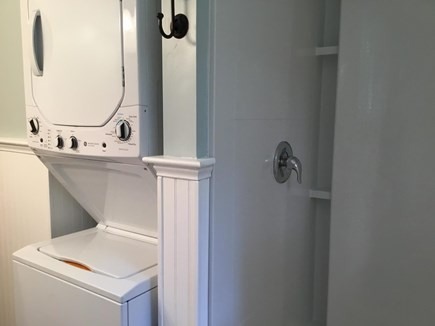Eastham Cape Cod vacation rental - Renovated bathroom with washer & dryer