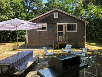 Eastham Cape Cod vacation rental - Outdoor dining area and gas grill