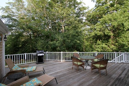 Orleans Cape Cod vacation rental - Beautiful large deck perfect for dining outdoors!