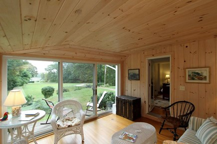 Orleans Cape Cod vacation rental - Sun room- perfect spot to relax and read a book!