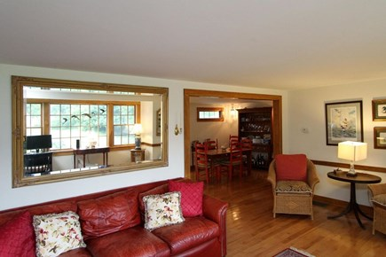 Orleans Cape Cod vacation rental - Entry / Den area