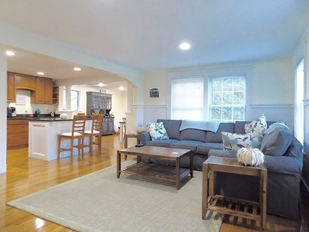 North Falmouth Cape Cod vacation rental - Open concept living