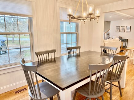 North Falmouth Cape Cod vacation rental - Sun splashed dining area