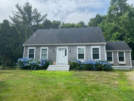 North Falmouth Cape Cod vacation rental - Cape style home at the end of a cul de sac
