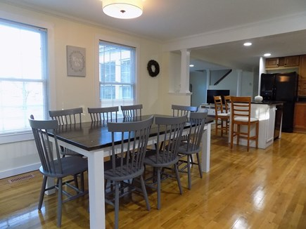 North Falmouth Cape Cod vacation rental - Dining area off kitchen