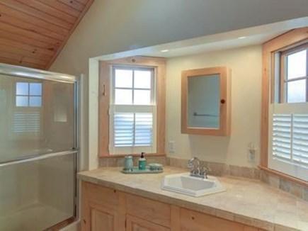 Dennis Port Cape Cod vacation rental - Queen bedroom bath with tub
