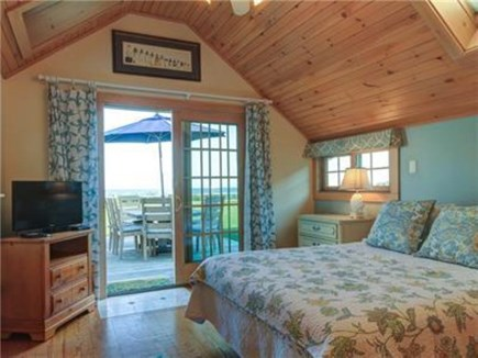 Dennis Port Cape Cod vacation rental - Master queen with attached full bath and tub. Washer/dryer.