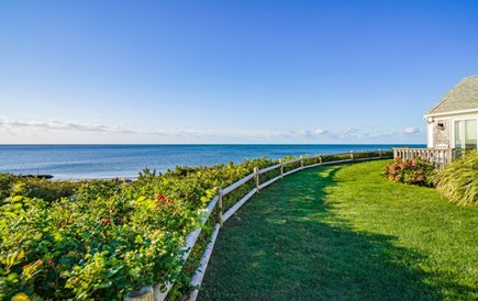 Dennis Port Cape Cod vacation rental - Front deck with ocean views