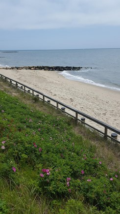 Dennis Port Cape Cod vacation rental - Dennis Seashores private Nantucket Sound beach.