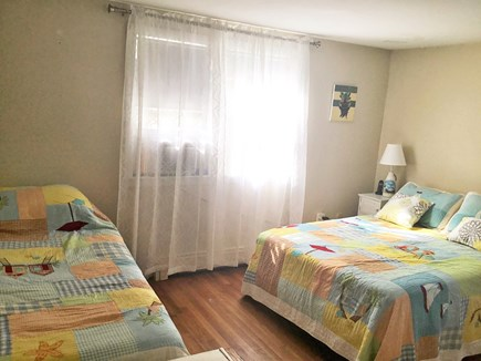 West Dennis Cape Cod vacation rental - Second bedroom with double bed and twin bed