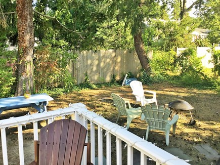 West Dennis Cape Cod vacation rental - Enjoy your cookout in the spacious and private back yard