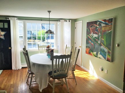 West Dennis Cape Cod vacation rental - Sunny and bright dining area off of living room