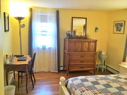 West Dennis Cape Cod vacation rental - Clean and pretty bedroom with queen bed