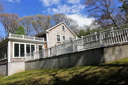 Osterville Osterville vacation rental - Backyard and patio