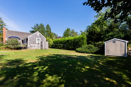 Orleans Cape Cod vacation rental - Large, private yard backs up to conservation land