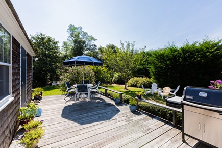 Orleans Cape Cod vacation rental - Enjoy dinners out on the deck - will have new gas grill for 2019
