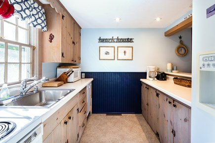 Orleans Cape Cod vacation rental - Full kitchen with dishwasher, new fridge and stove for 2019