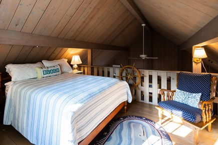 Orleans Cape Cod vacation rental - Loft bedroom with double bed