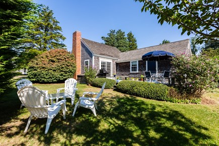 Orleans Cape Cod vacation rental - Private yard with plenty of outdoor seating