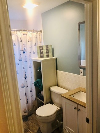 Plymouth, Priscilla Beach MA vacation rental - Full tiled new bathroom