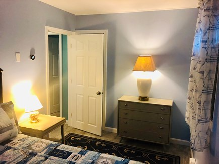 Plymouth, Priscilla Beach MA vacation rental - Bedroom 2 - Full bed, view 2